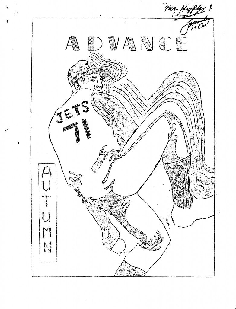 Read more about the article Advance – Autumn 1971
