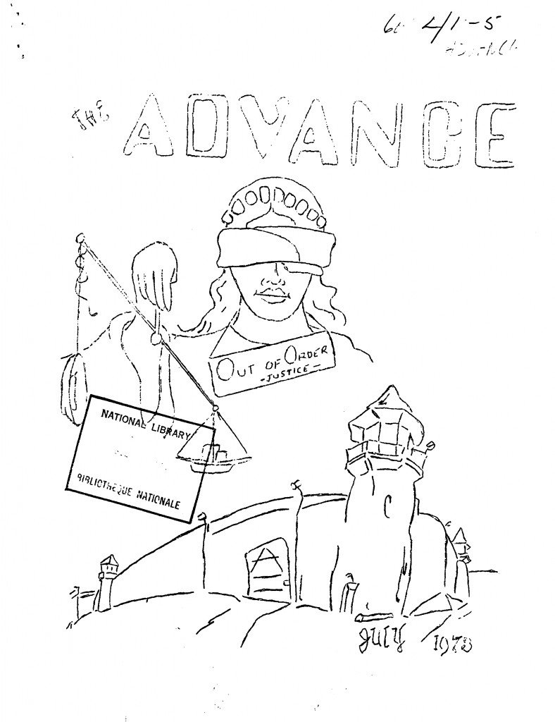 Read more about the article The Advance – July 1973