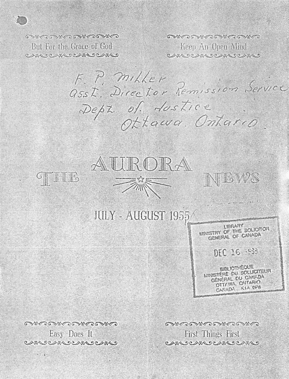 Read more about the article The Aurora News – Jul/Aug 1955