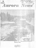 Read more about the article The Aurora News – Spring 1960
