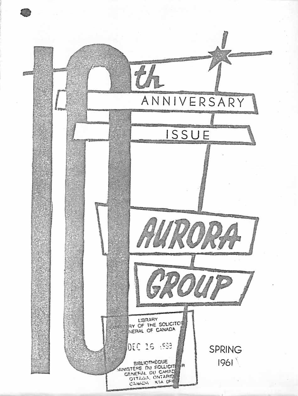 Read more about the article The Aurora News – Spring 1961