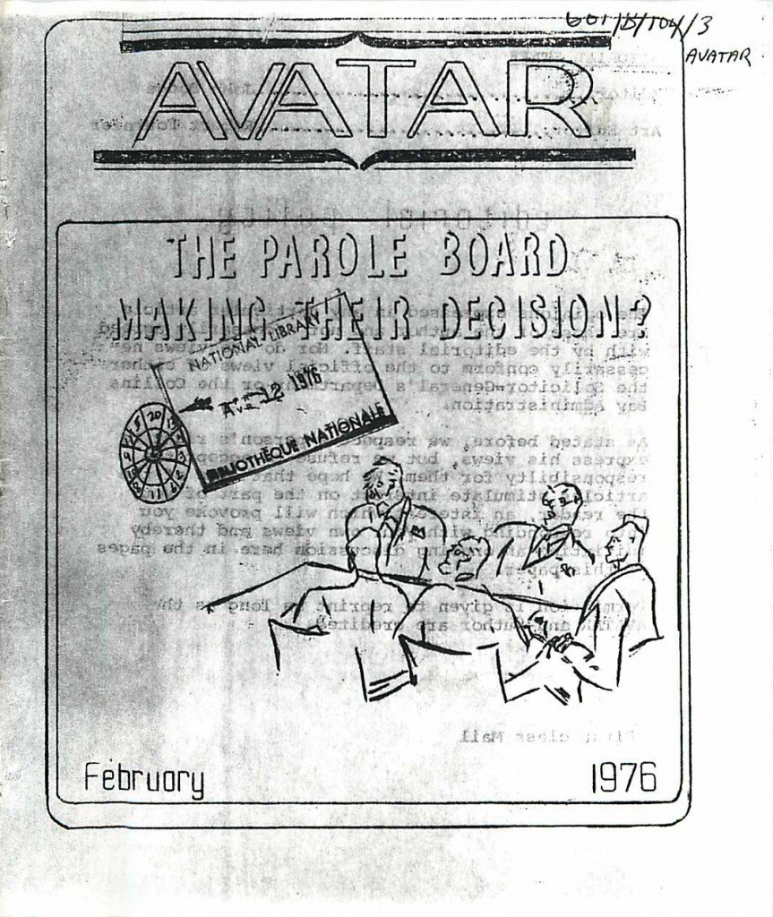 Read more about the article Avatar – February 1976
