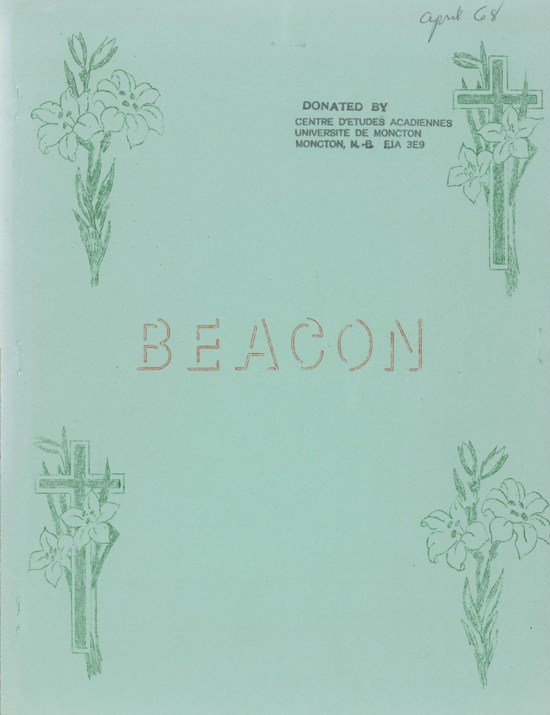Read more about the article The Beacon Monthly – April 1968