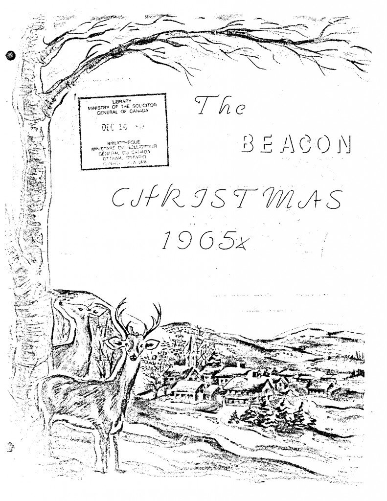 Read more about the article The Beacon Monthly – December 1965