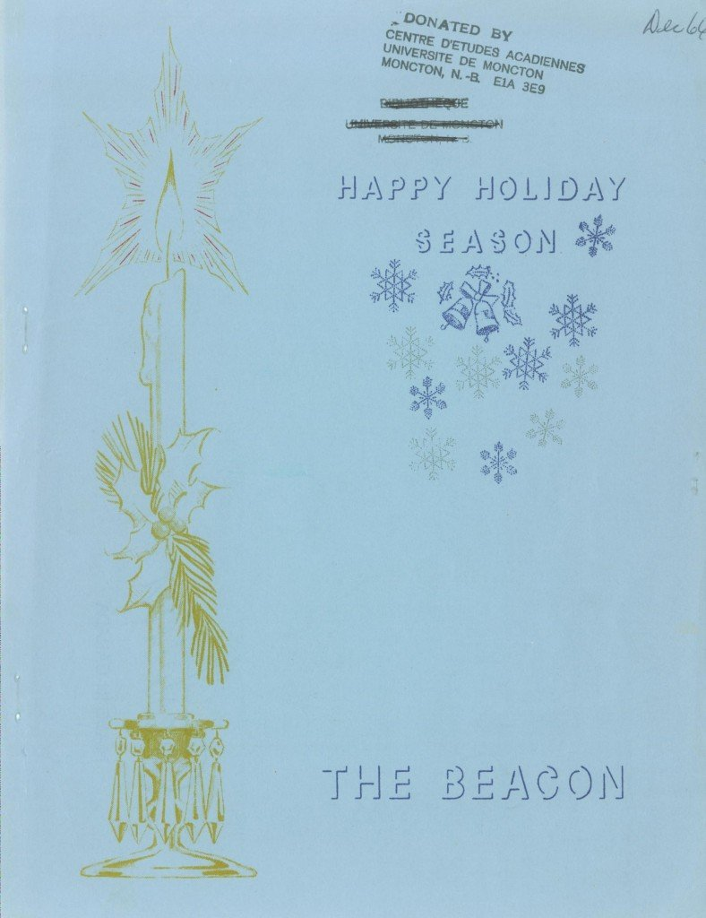 Read more about the article The Beacon Monthly – December 1966