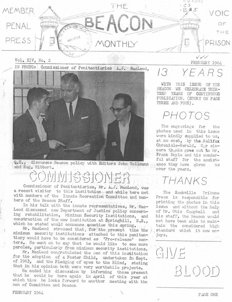 Read more about the article The Beacon Monthly – February 1964