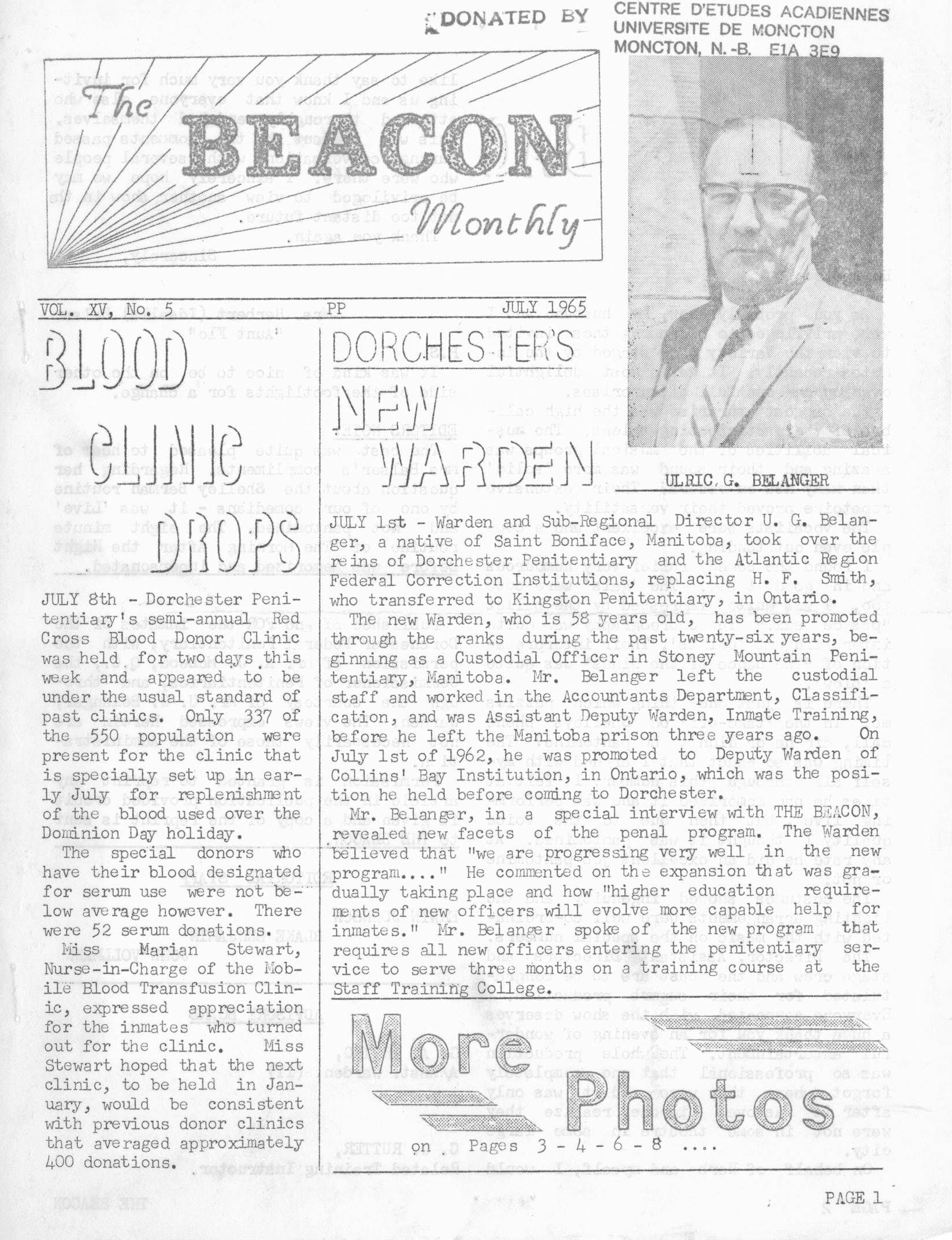 Read more about the article The Beacon Monthly v. XV(5)