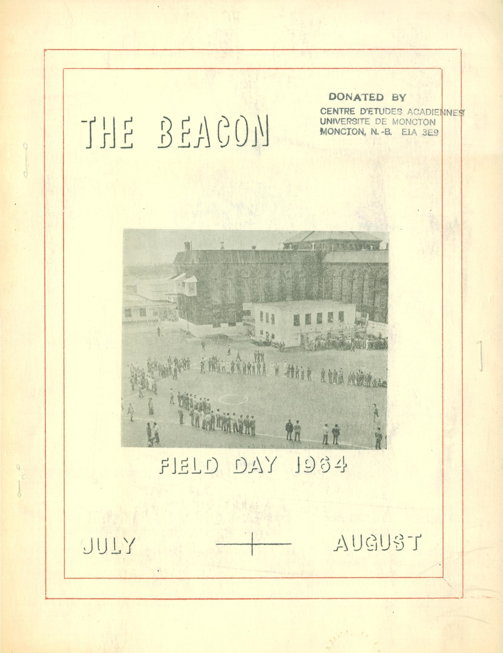 Read more about the article The Beacon Monthly – Jul/Aug 1964