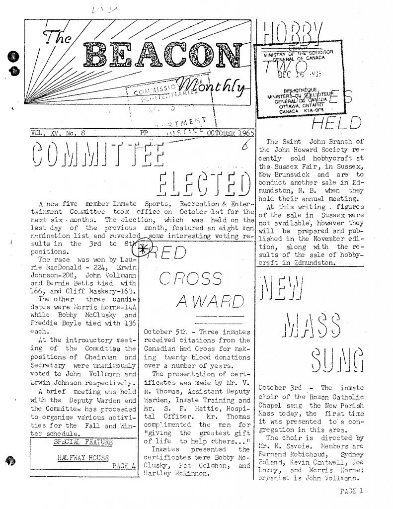 Read more about the article The Beacon Monthly v.XV(8)