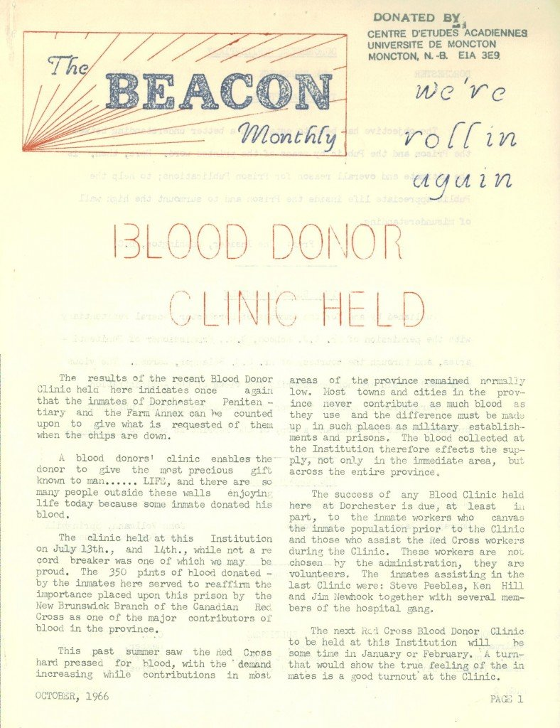 Read more about the article The Beacon Monthly – October 1966