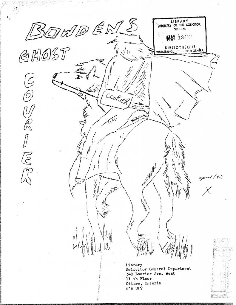 Read more about the article The Bowden Ghost Courier – April 1983
