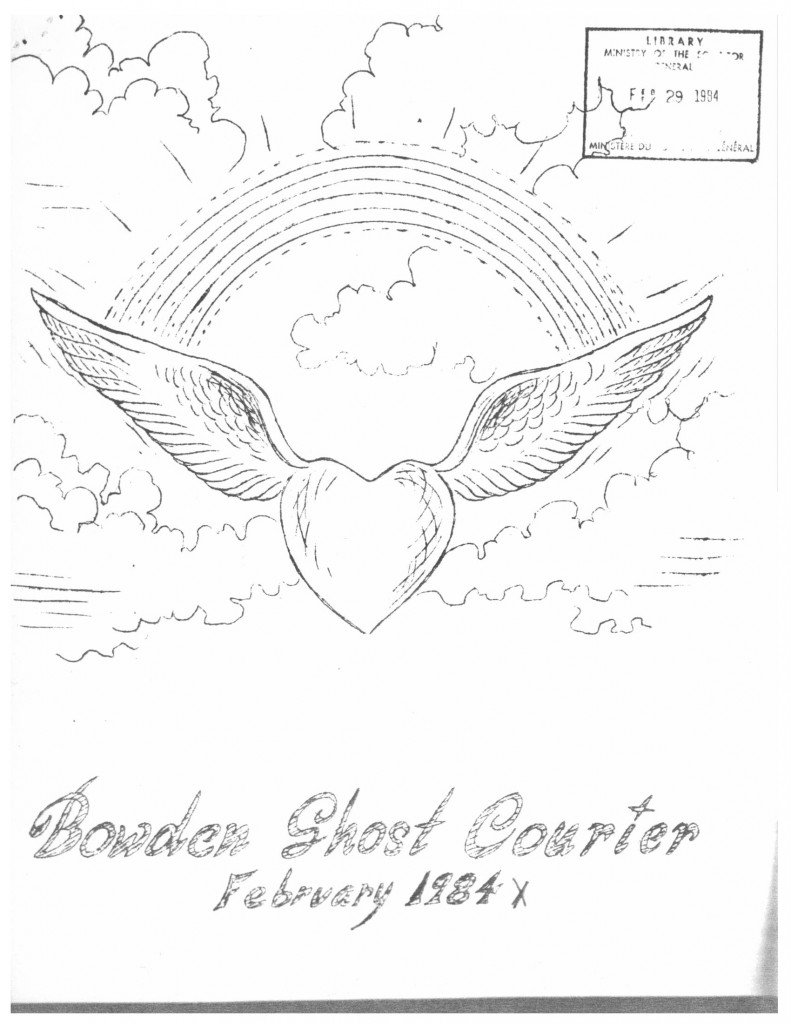 Read more about the article The Bowden Ghost Courier – February 1984