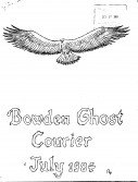 Read more about the article The Bowden Ghost Courier – July 1984