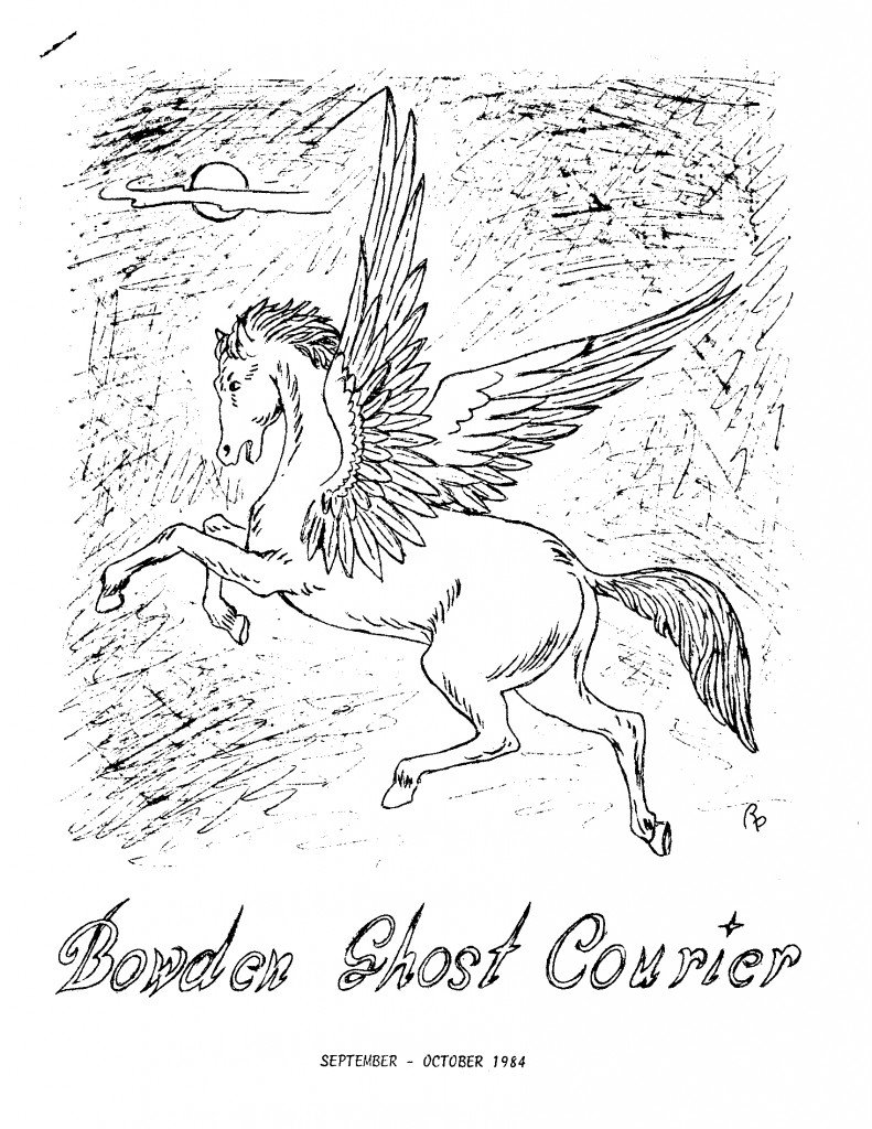 Read more about the article The Bowden Ghost Courier – Sep/Oct 1984