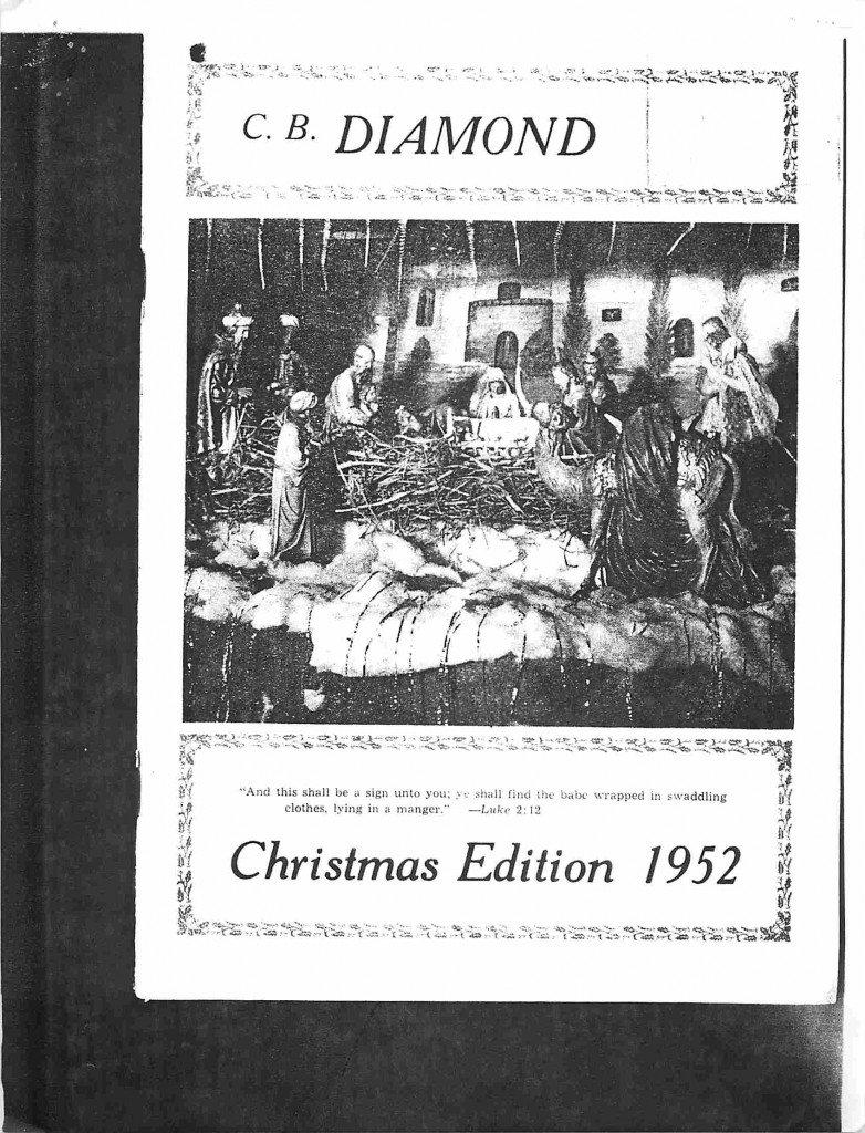 Read more about the article C.B. Diamond – Nov/Dec 1952