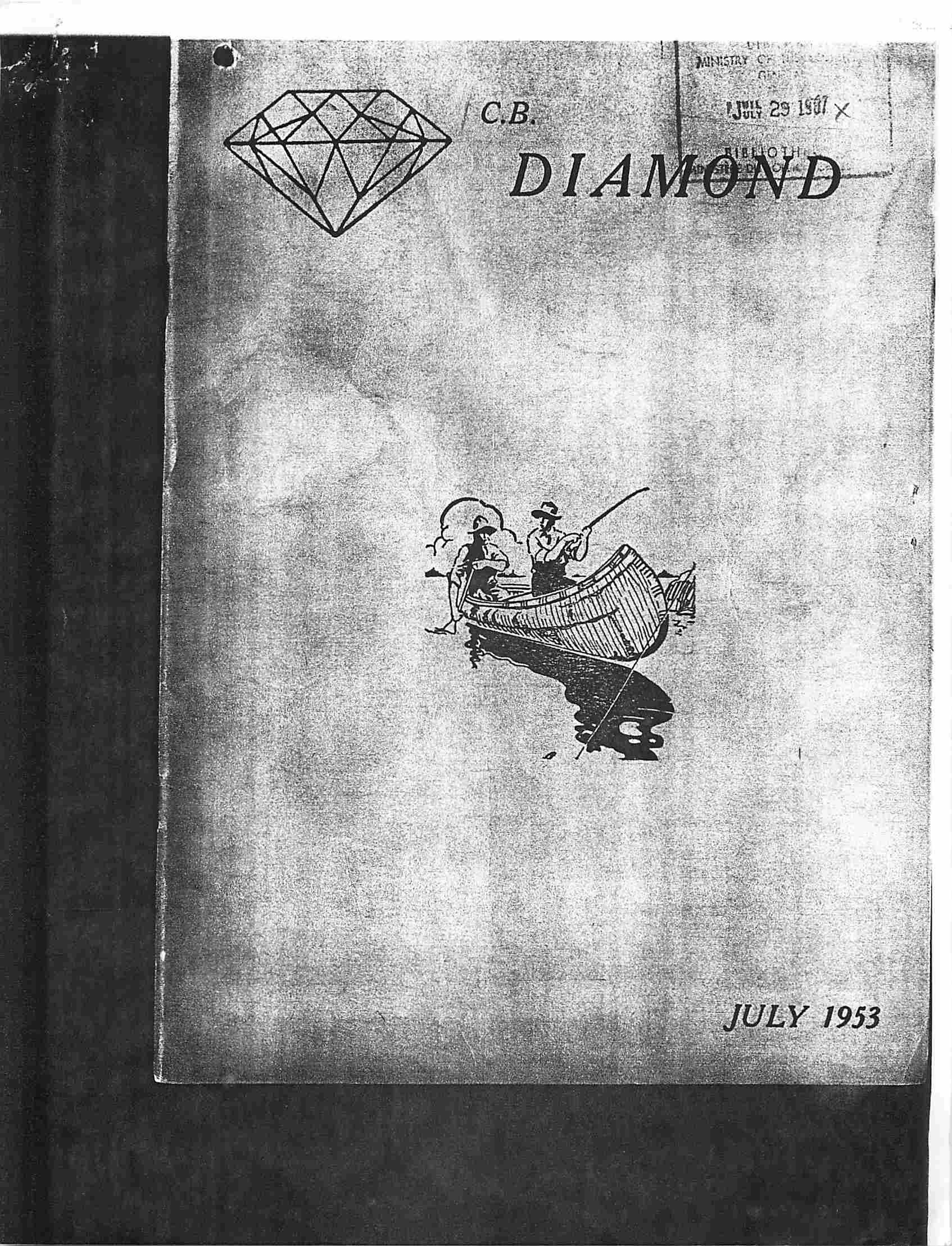 Read more about the article C.B. Diamond – July 1953