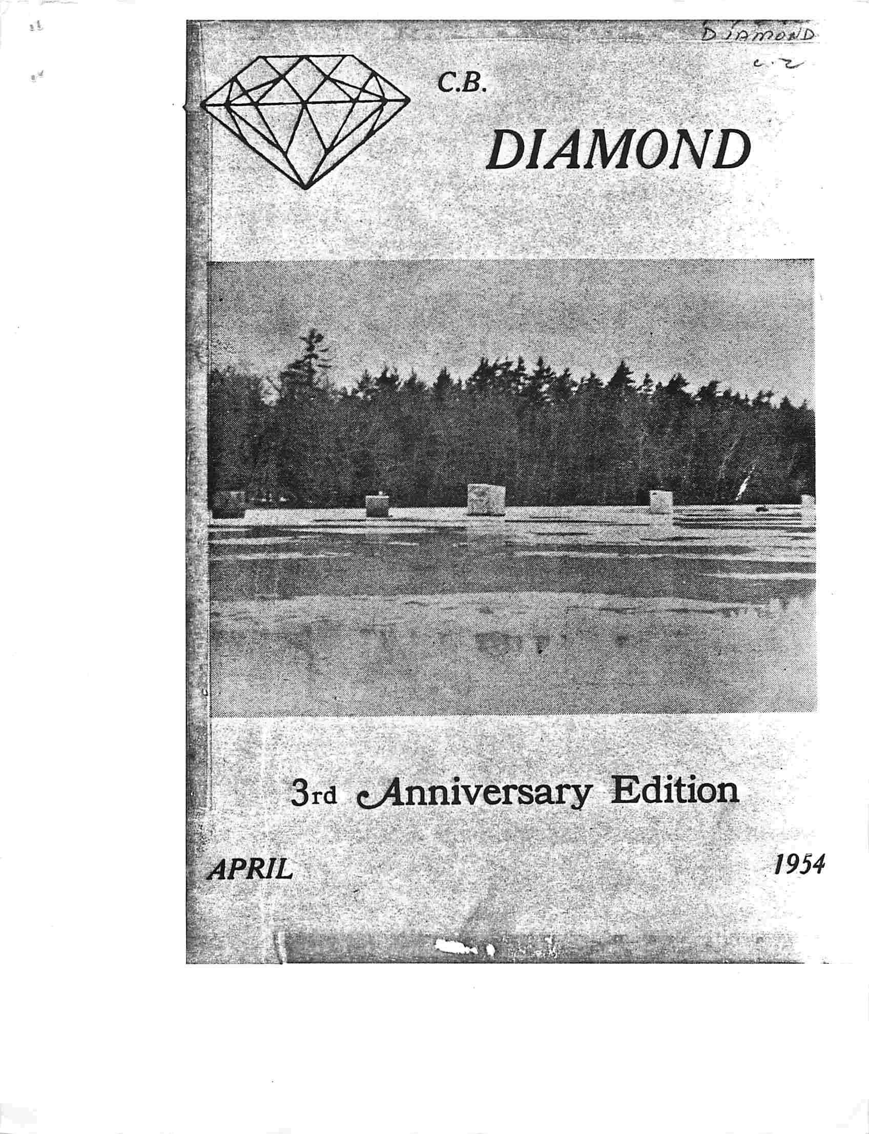 Read more about the article C.B. Diamond – April 1954
