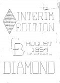 Read more about the article C.B. Diamond – August 1954