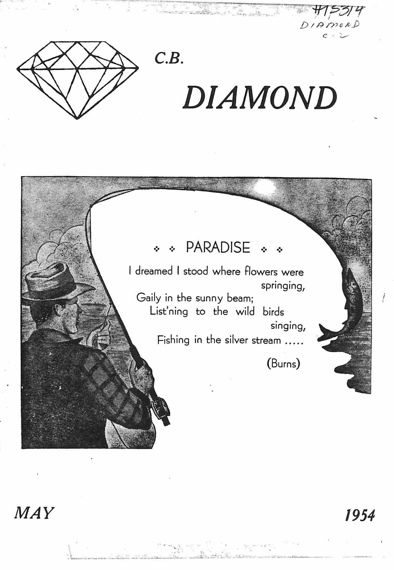 Read more about the article C.B. Diamond – May 1954