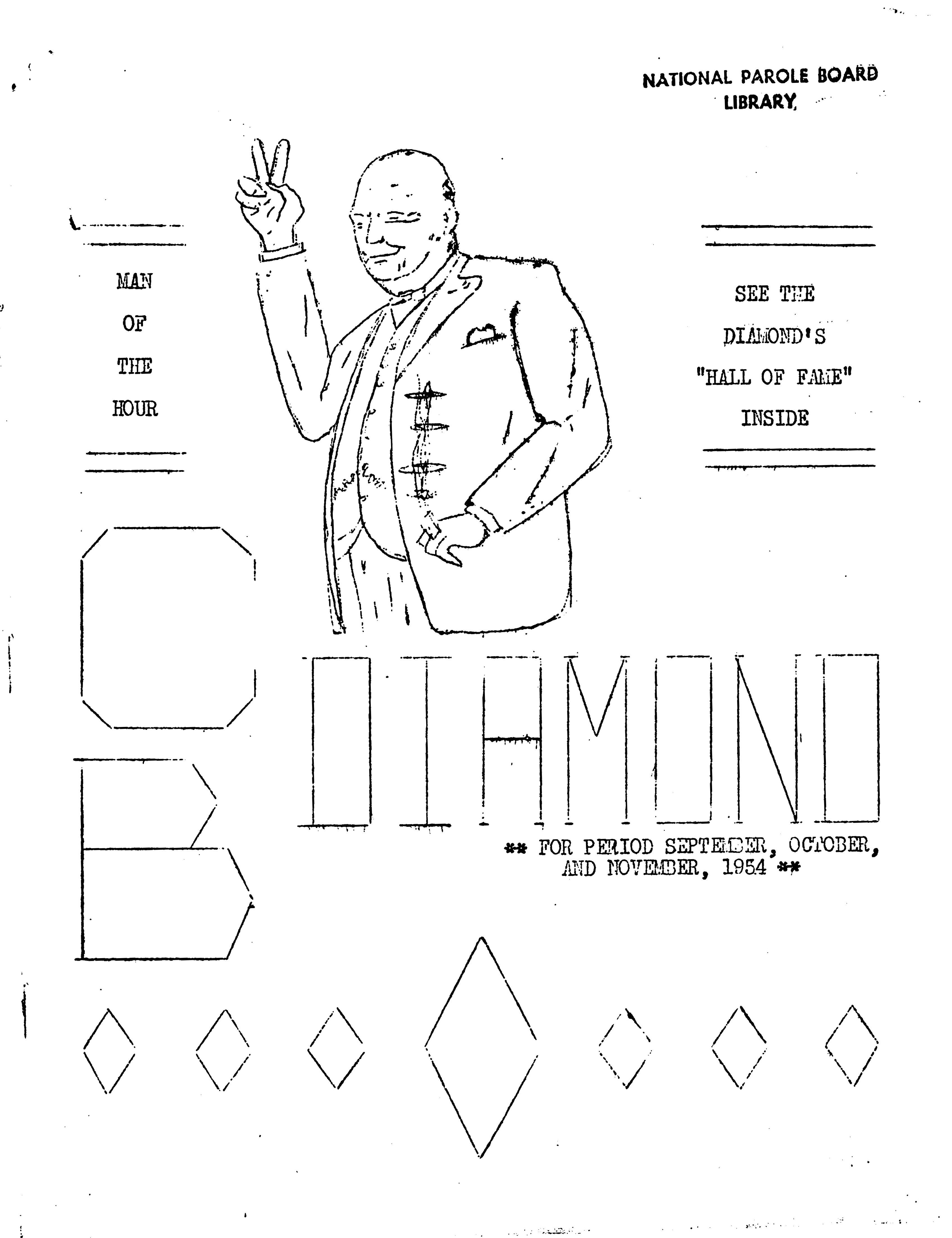 Read more about the article C.B. Diamond – Sep/Oct/Nov 1954
