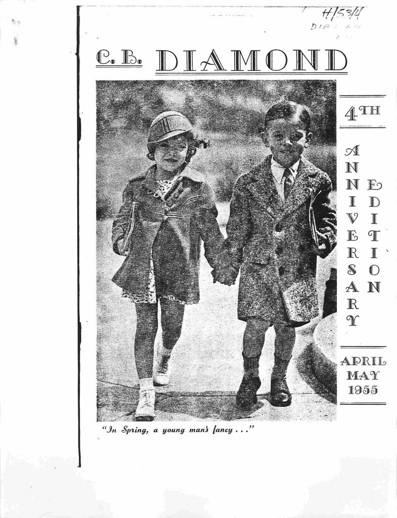 Read more about the article C.B. Diamond – April/May 1955