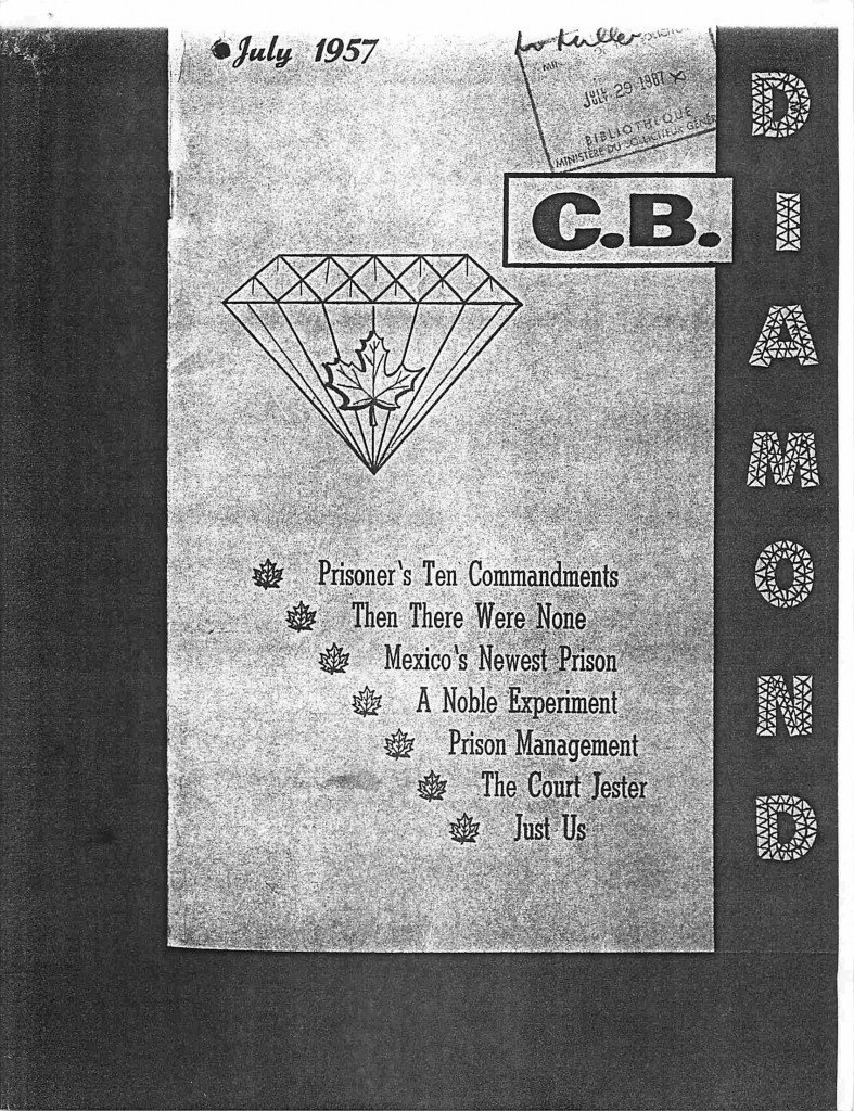 Read more about the article C.B. Diamond – July 1957