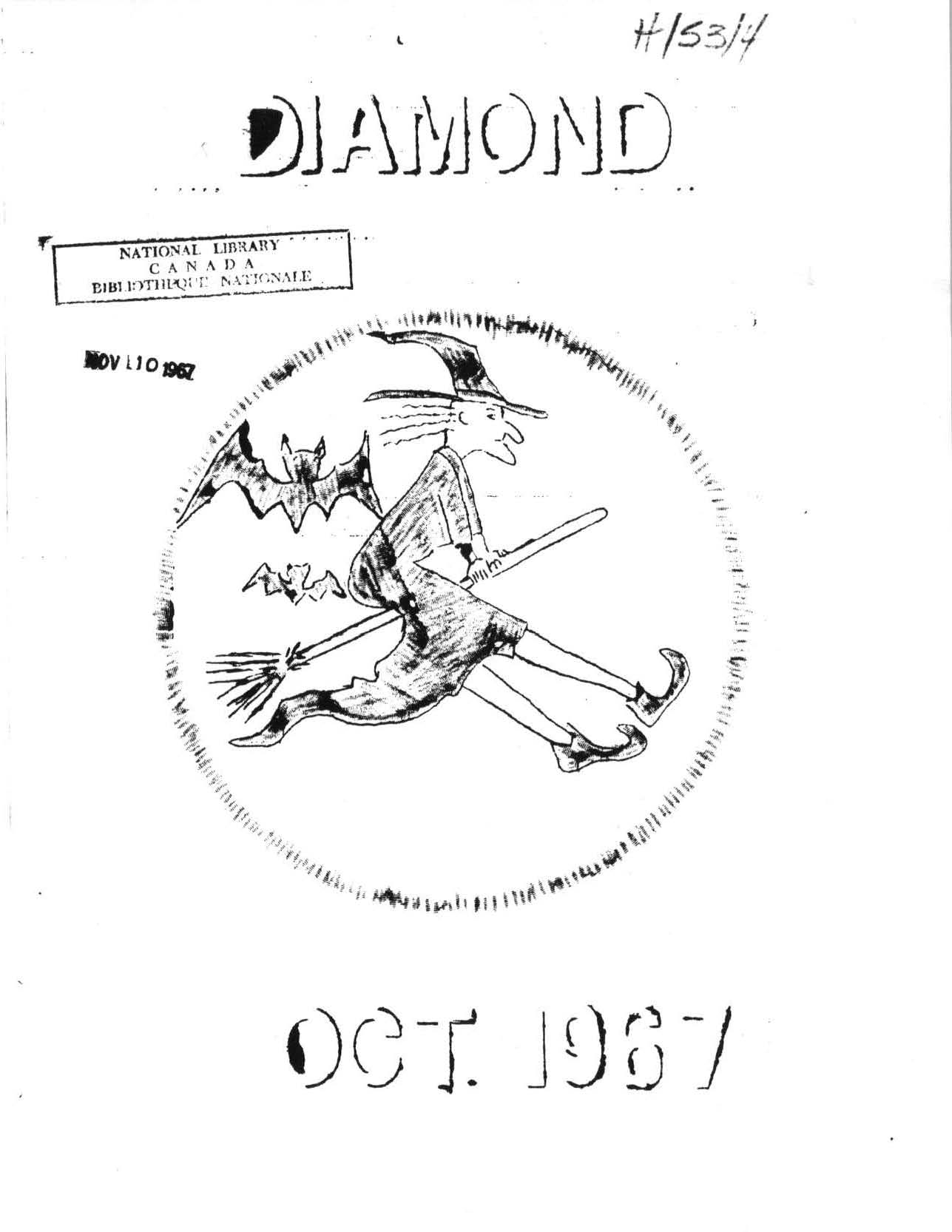 Read more about the article C.B. Diamond – October 1967