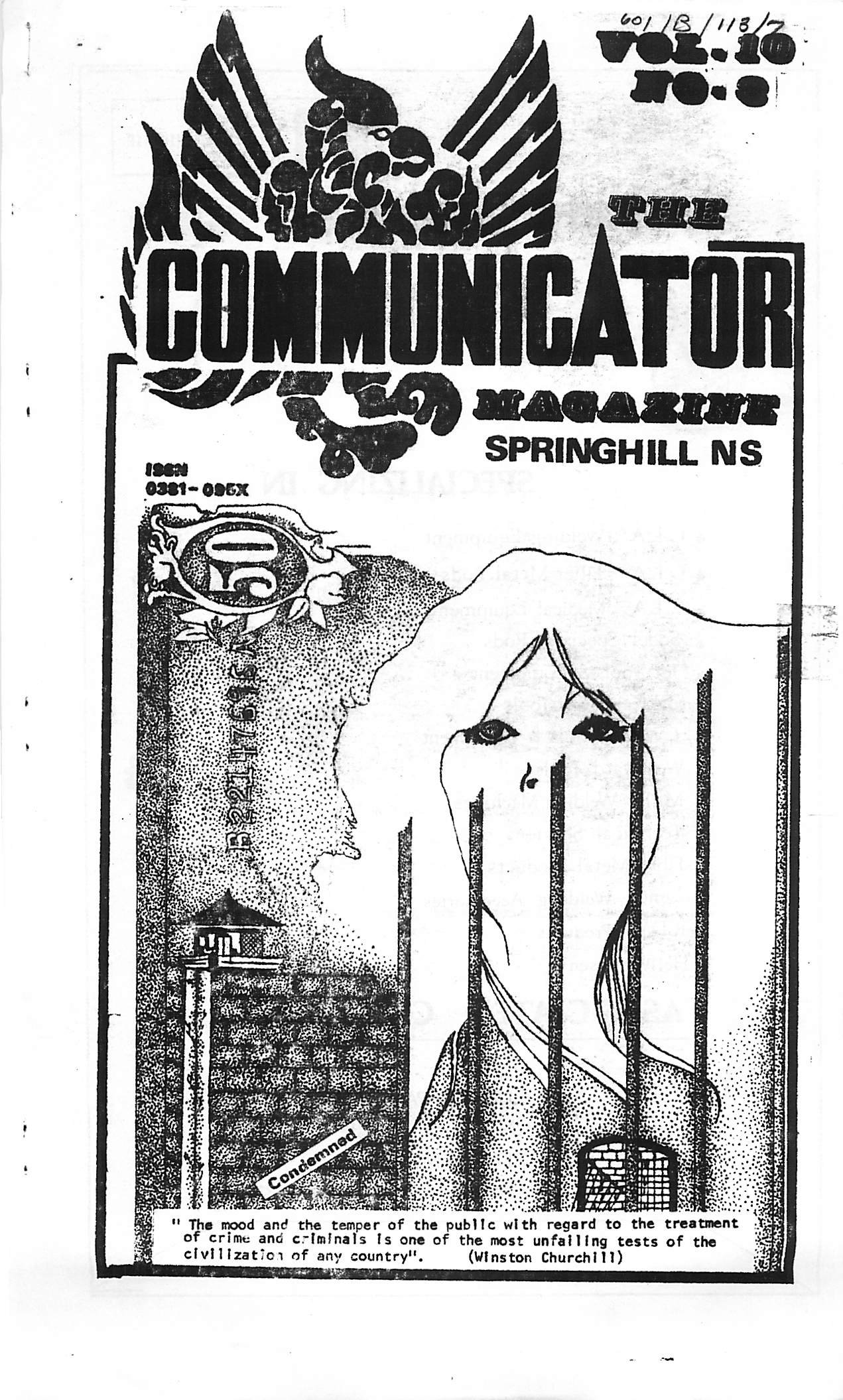 Read more about the article The Communicator v10(3)