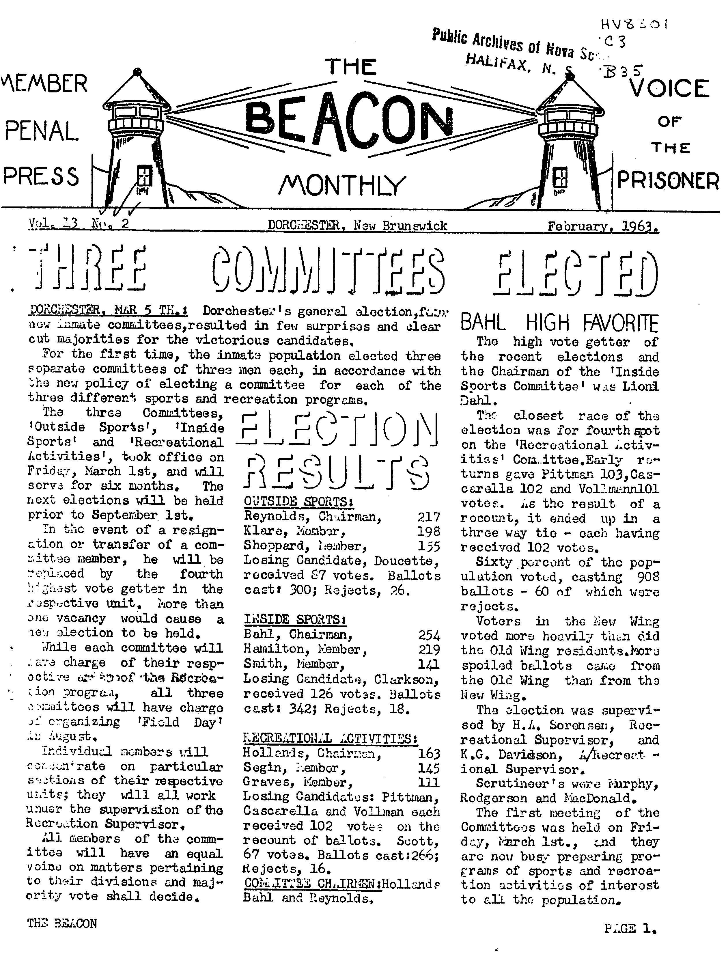 Read more about the article The Beacon Monthly v.13(2)
