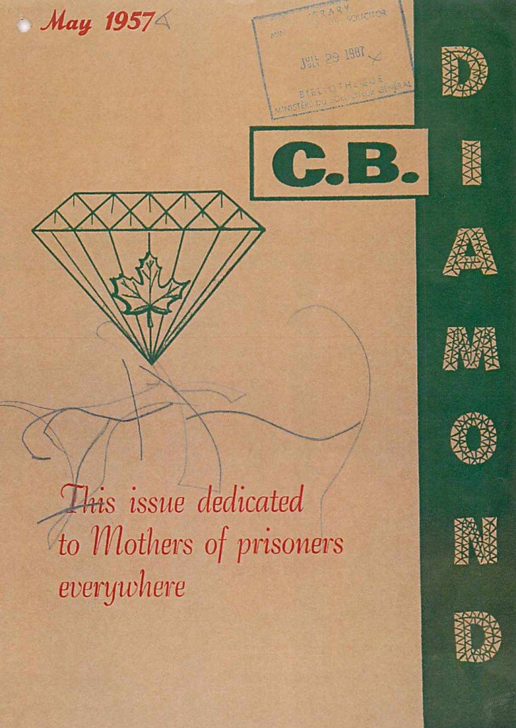 Read more about the article C.B. Diamond – May 1957