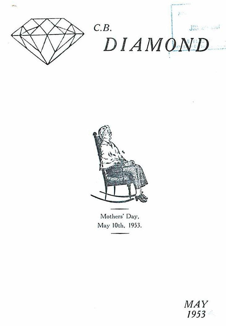 Read more about the article C.B. Diamond – May 1953