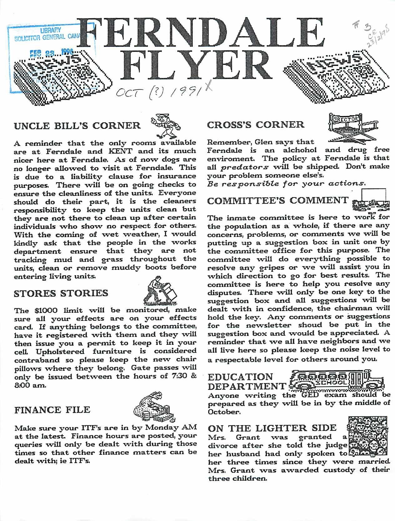 Read more about the article Ferndale Flyer