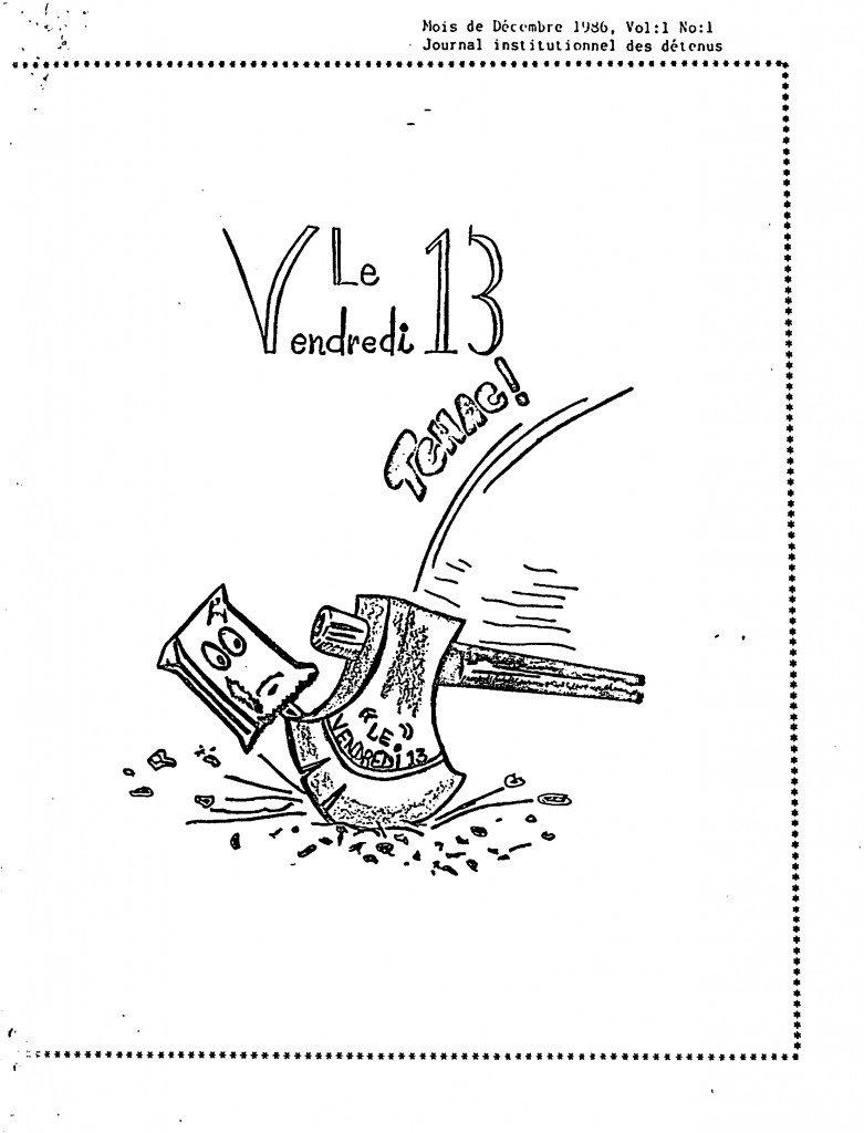 Read more about the article Le Vendredi 13