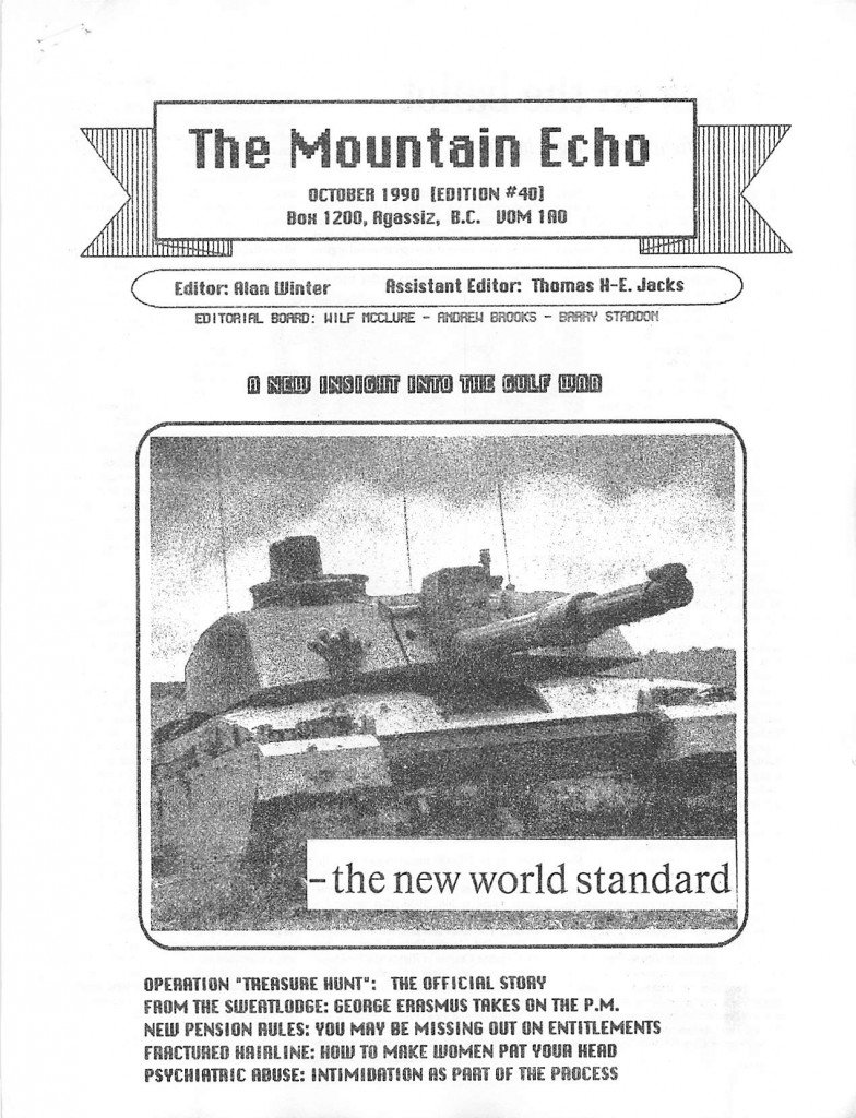 Read more about the article The Mountain Echo – October 1990