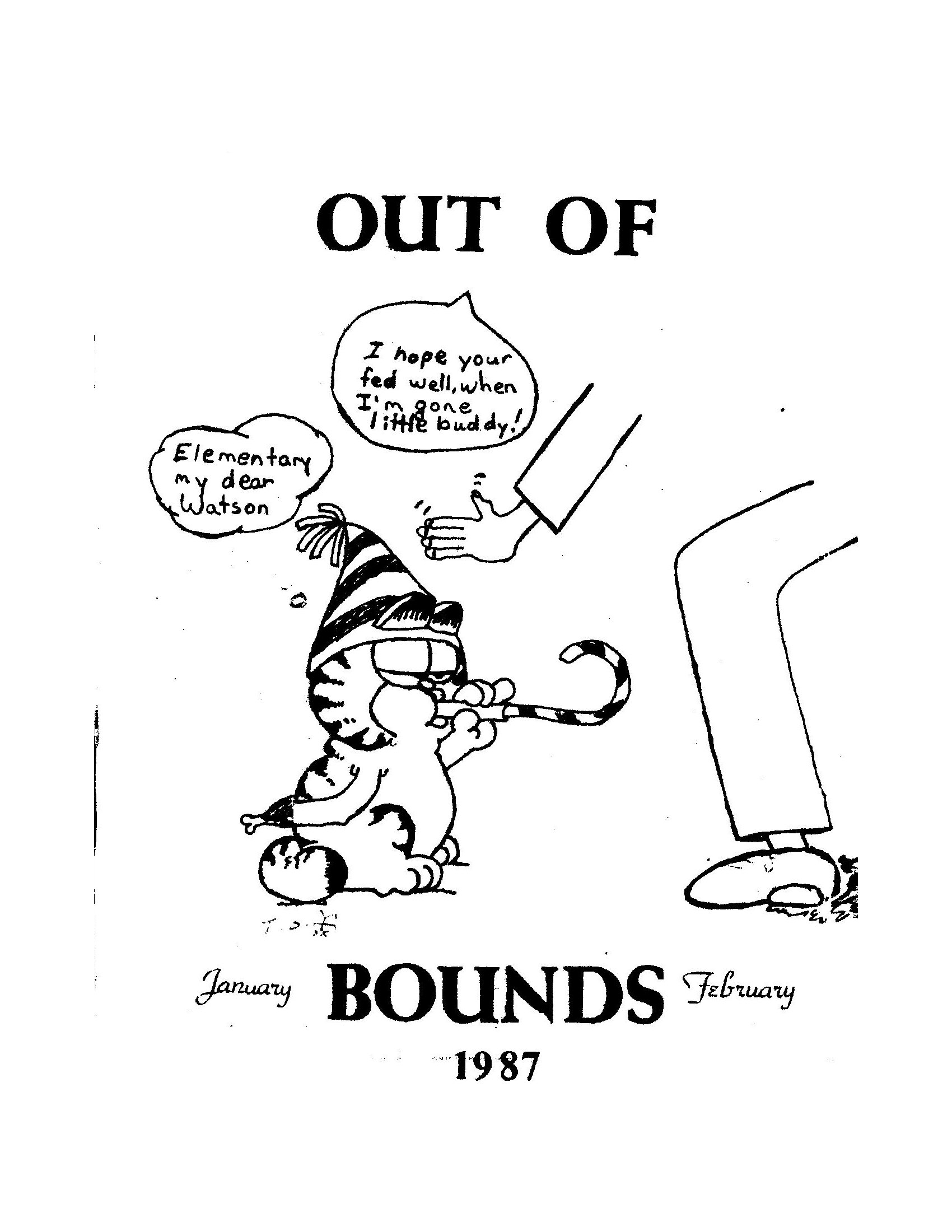 Read more about the article Out of Bounds – Jan/Feb 1987