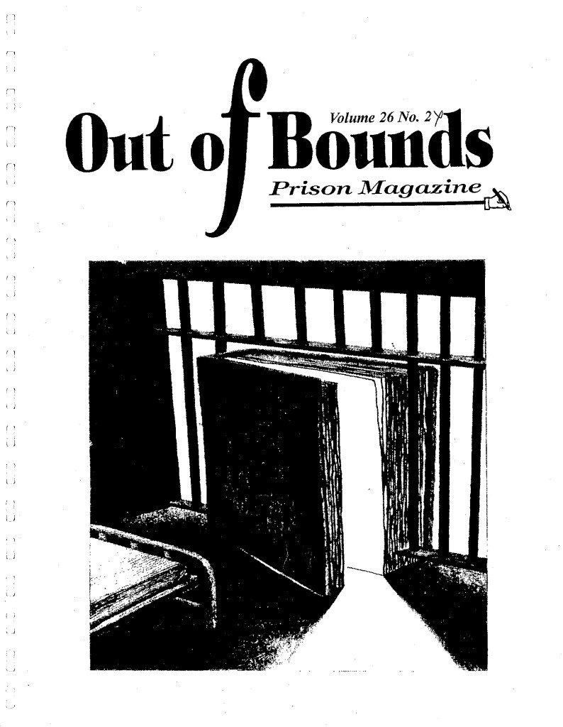 Read more about the article Out Of Bounds v26(2)