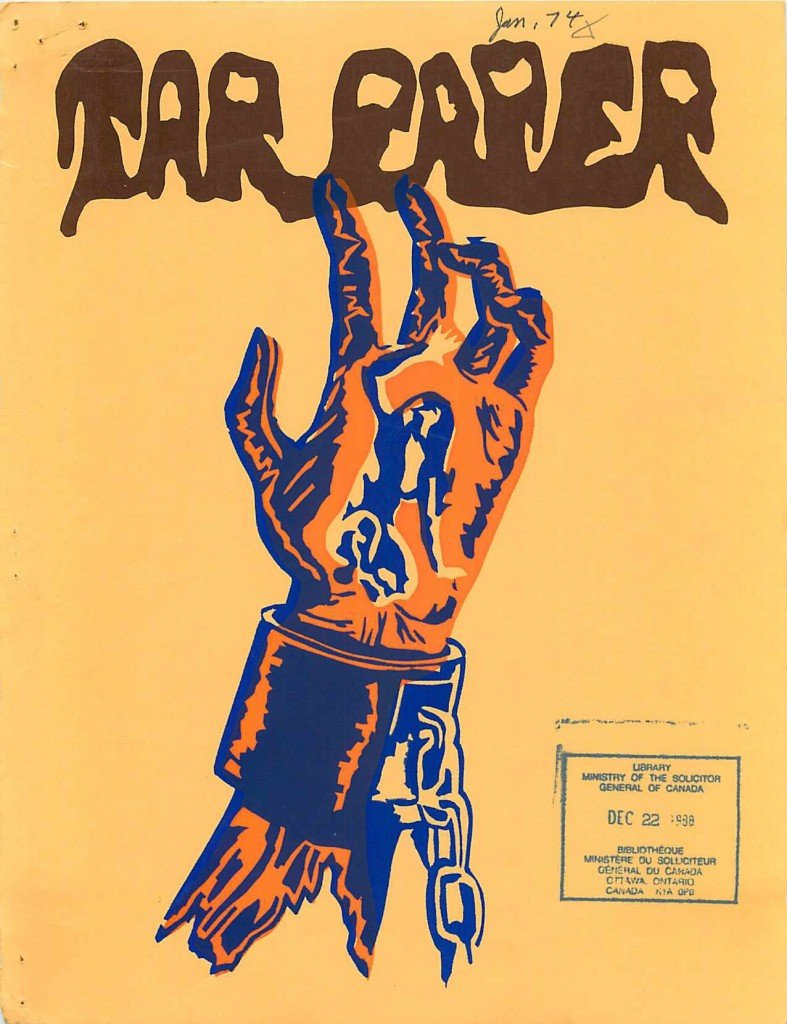 Read more about the article Tarpaper – January 1974