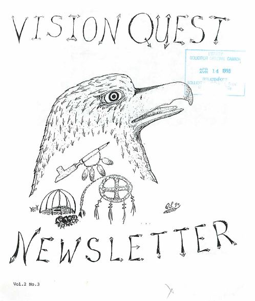 Read more about the article Vision Quest Newsletter v2(3)