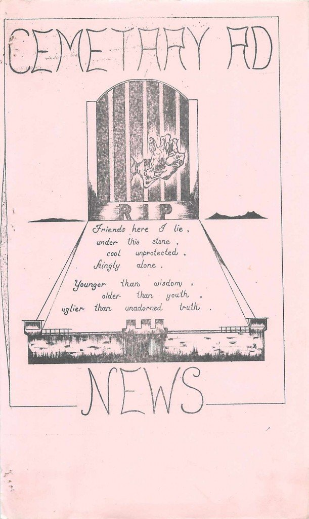 Read more about the article Cemetery Road – February 1985
