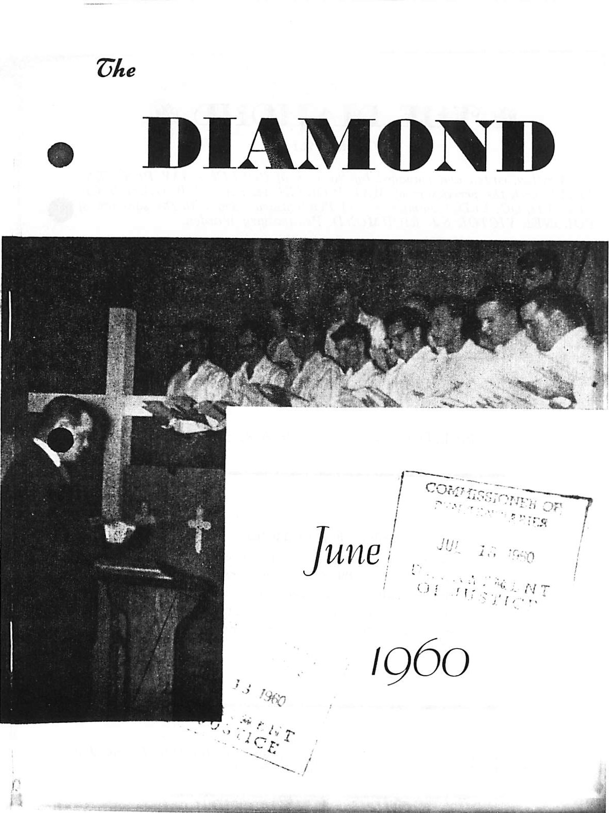 Read more about the article C.B. Diamond – June 1960