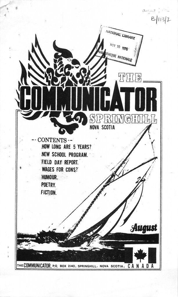 Read more about the article The Communicator – August 1974