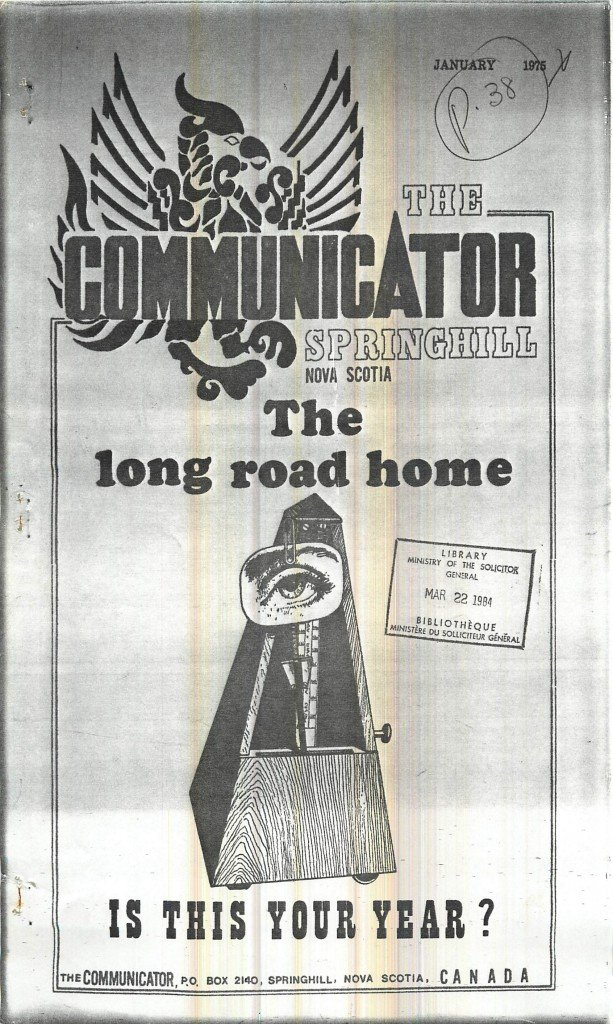 Read more about the article The Communicator – January 1975