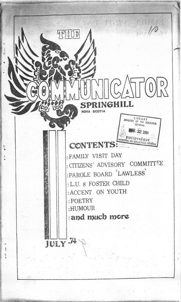 Read more about the article The Communicator – July 1974
