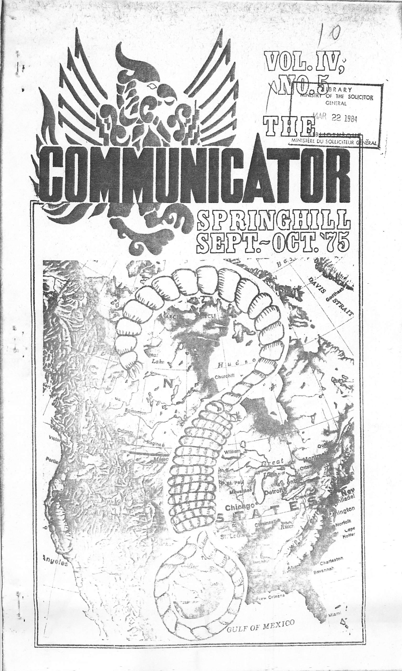 Read more about the article The Communicator – September/October 1975