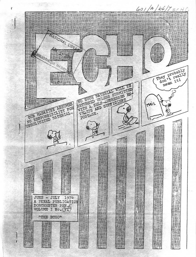 Read more about the article The Echo – June/July 1974