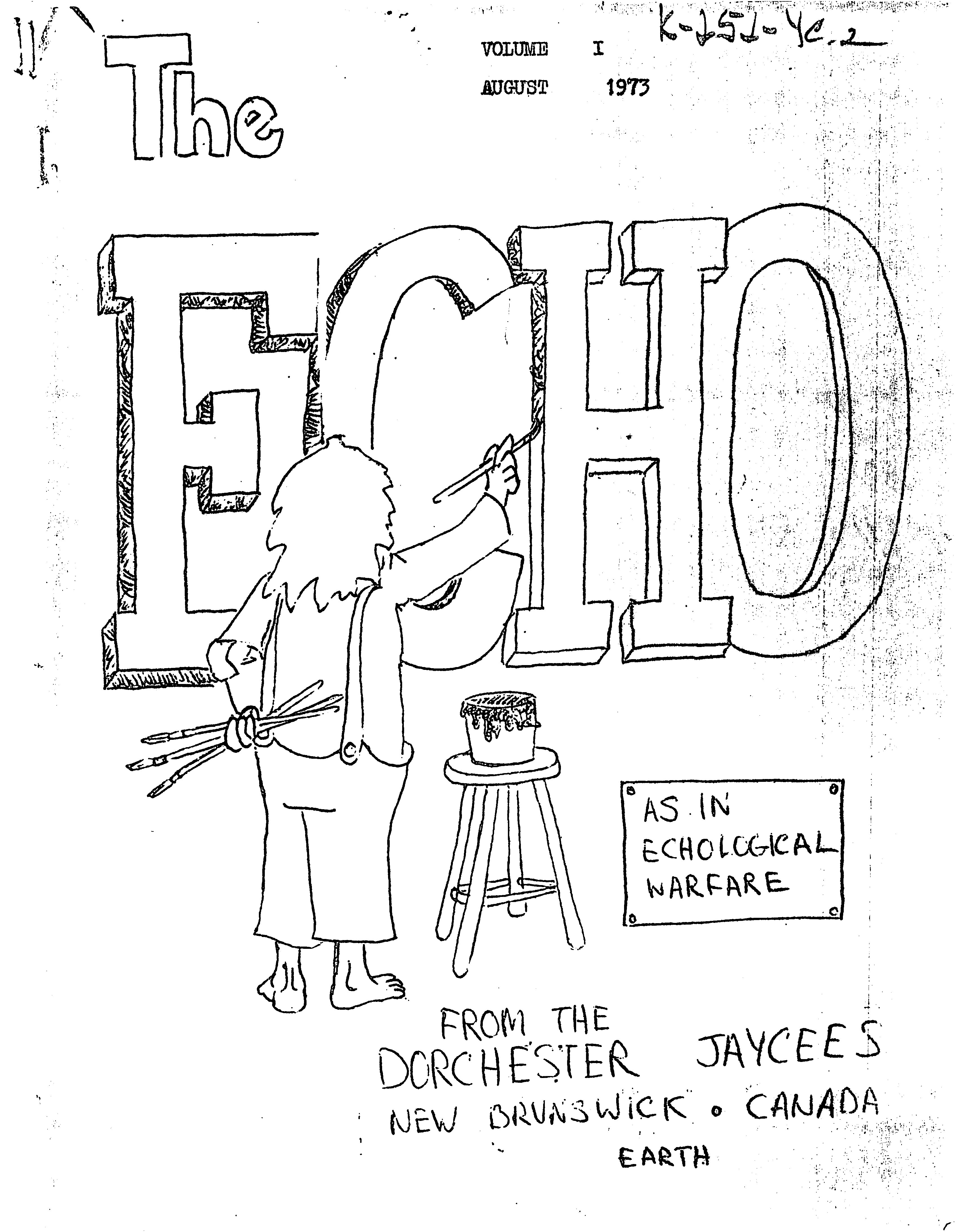 Read more about the article The Echo – August 1973