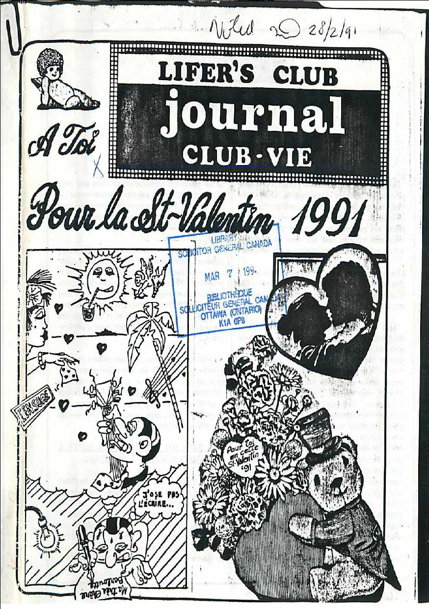 Read more about the article Lifer's Club Journal