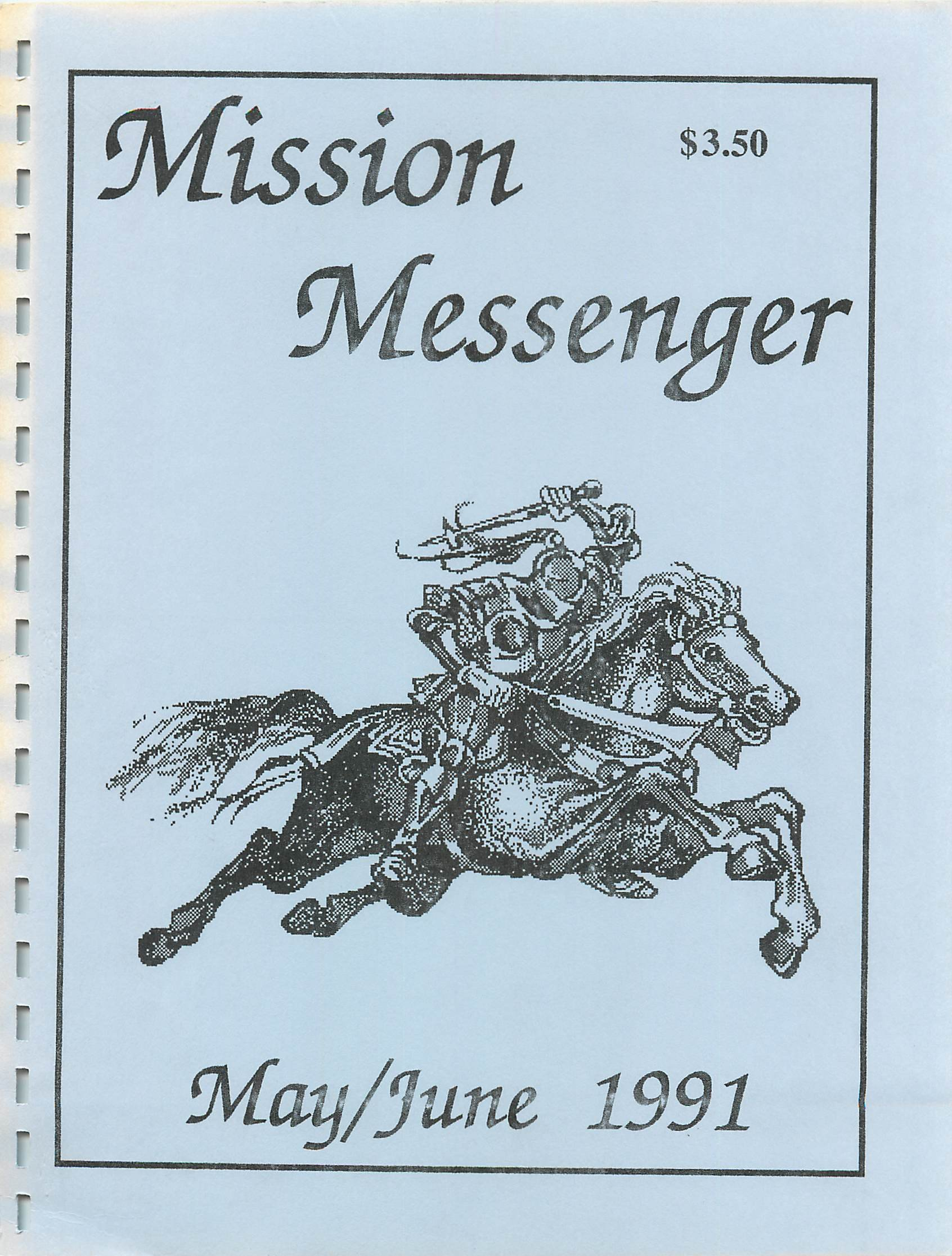 Read more about the article Mission Messenger – May/June 1991