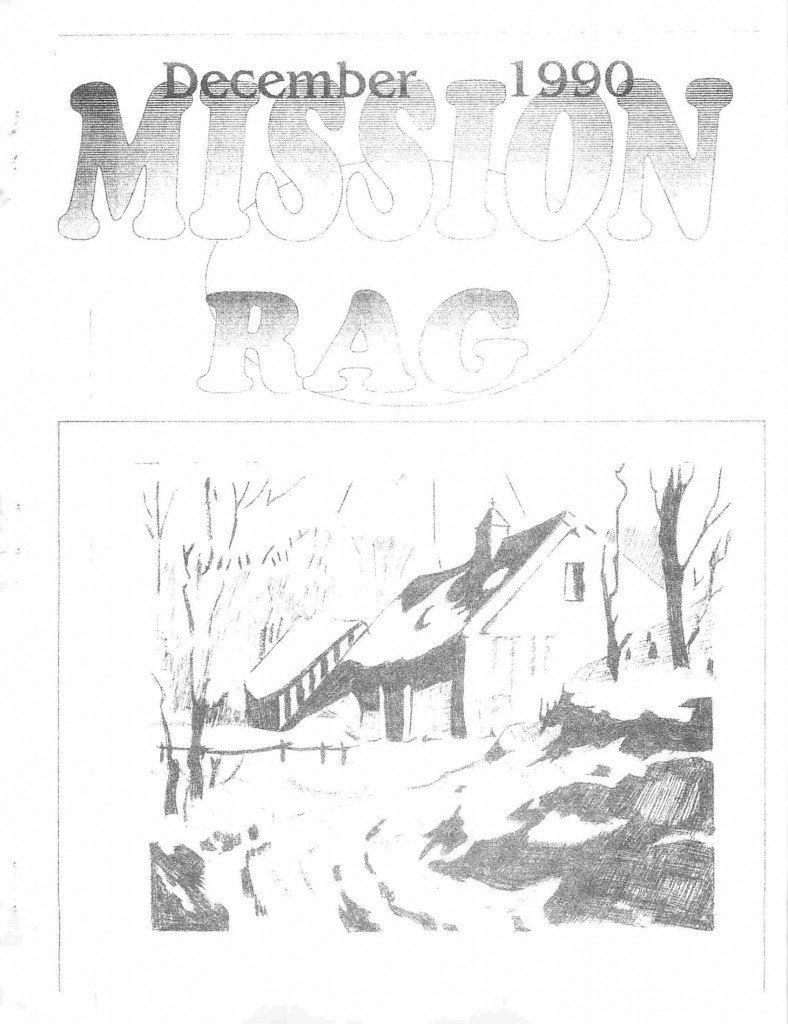 Read more about the article Mission Rag – December 1990