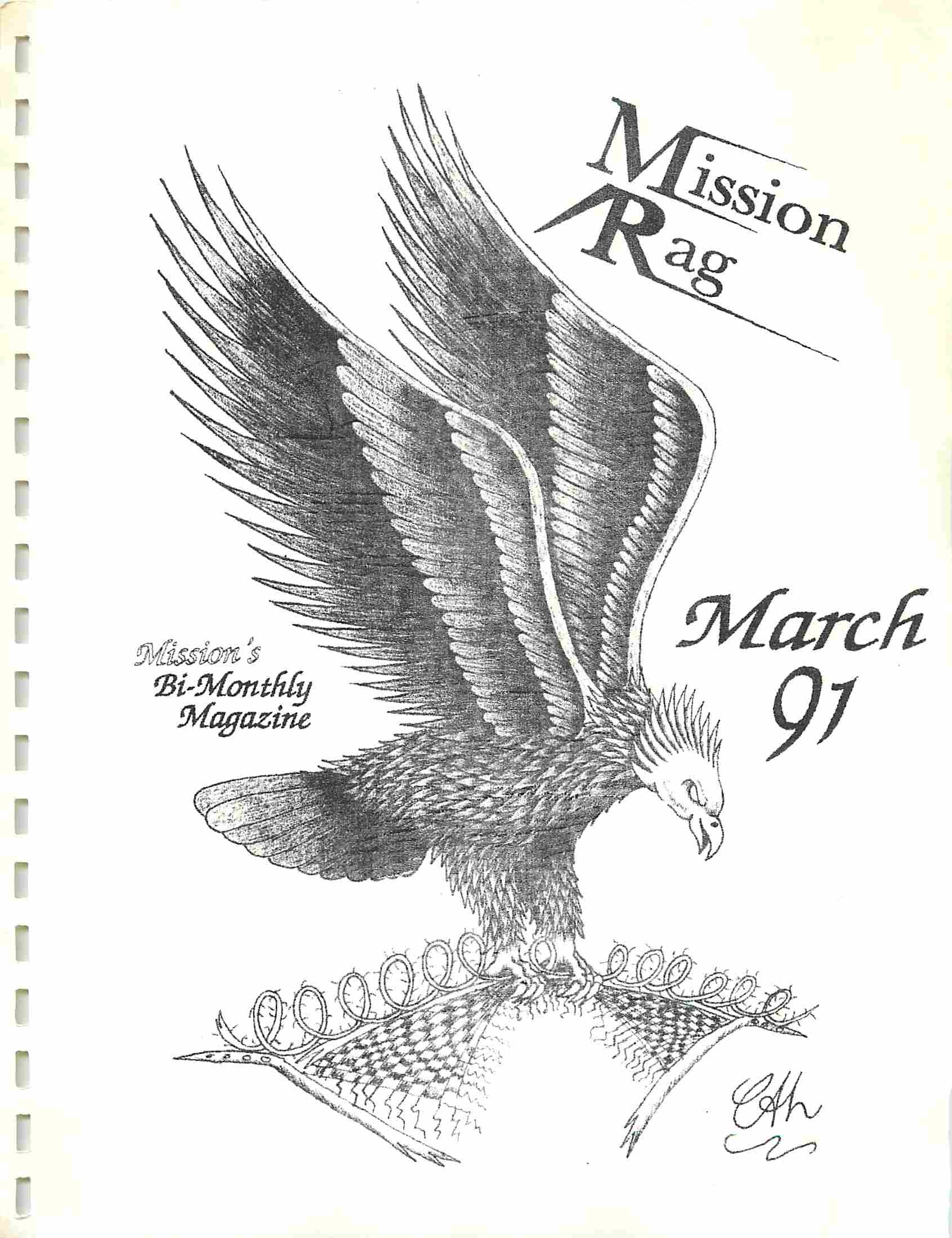 Read more about the article Mission Rag – March 1991